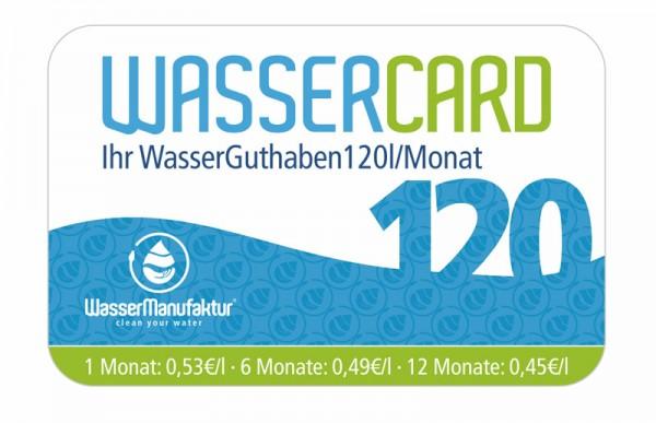 WasserCard 120