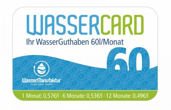 WasserCard 60