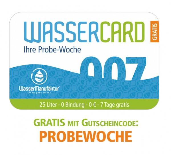 WasserCard 007 - Probewoche