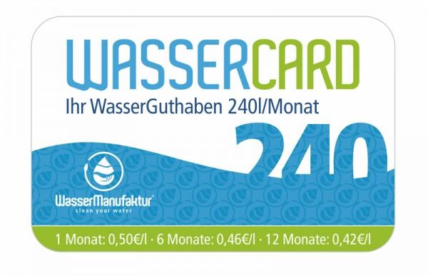 WasserCard 240