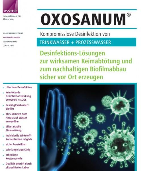 OXOSANUM Chlordioxid Tabs zur Behälterreinigung