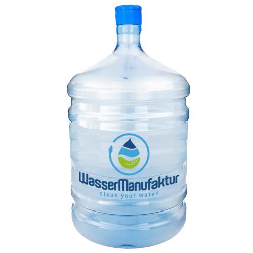 Wasserspender-Set 18,9 l aus TRITAN ohne BPA (Bisphenol-A frei)