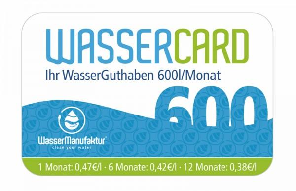 WasserCard 600